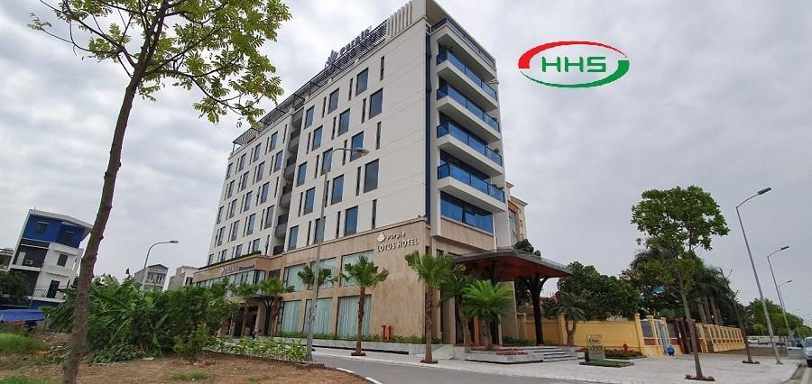 Thảm HHS tại khách sạn Perpel Totus hotel giá rẻ